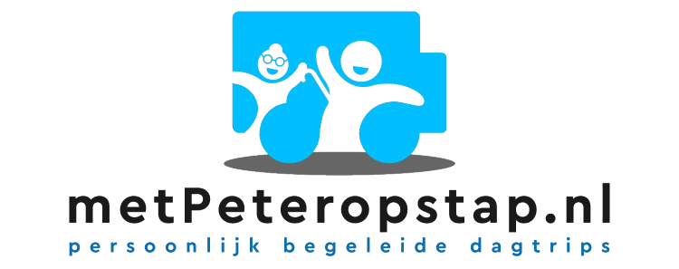 Logo met Peter op Stap